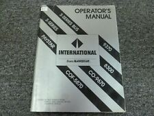 1985-1988 International 9370 Owner Operator Maintenance Manual 1986 1987