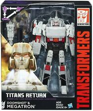 Transformers Generations Titans Return Megatron and Doomshot NEW