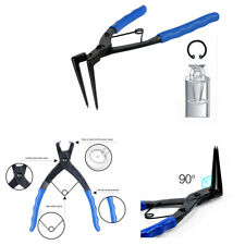 90 Bent Nose Motorcycle Hydraulic Cylinders Snap Ring Circlip Pliers Hand Tool