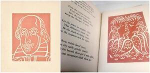 Phoenix Turtle Shakespeare 1944 Gischia Illustrator Folio LE 147/250 Book French