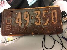 New York 1953/54 SUBURBAN STATION WAGON Plate # 49-350