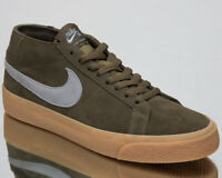 Nike SB Zoom Blazer Chukka Men's New Medium Olive Lifestyle Sneakers AT9765-201