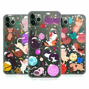 HEAD CASE CHRISTMAS IN SPACE SOFT GEL CASE & WALLPAPER FOR APPLE iPHONE PHONES