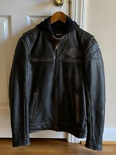 Harley Davidson Leather Motorcycle Jacket, Medium