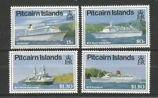 Islas Pitcairn 1991 cruceros SG, 395-398 Um/M nh Lote 1490A
