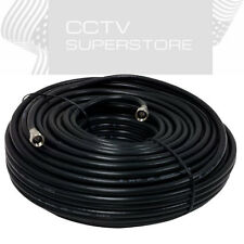 50 FT Gold Plated Coaxial Digital Cable for Satellite VCR TV Video Black