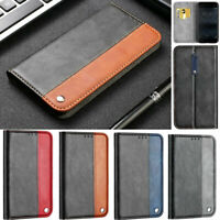 Splice Wallet Leather Flip Stand Case Cover For Nokia 3.1 5.1 6.1 7.1 2018 2 3 5