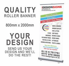 Roller Banner Pull/Roll/Pop-up - 800x2000mm + YOUR ARTWORK