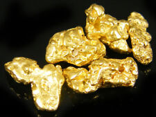 5 echte Goldnuggets aus Alaska direkt vom Schürfer GN25S5X2