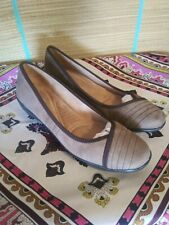 Naturalizer N5 women's 10 N beige slipon flats shoes leather comfort