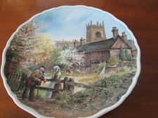 ROYAL DOULTON MEMORY LANE  VILLAGE LIFE BY ANTHONY FORSTER COLLECTORS PLATE