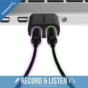 Sabrent USB External Stereo Sound Adapter for Windows and Mac