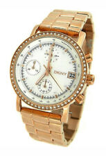 DKNY CHRONOGRAPH ROSE GOLD TONE 50M LADIES WATCH NY8358