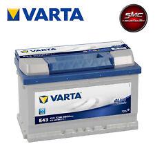 BATTERIA AUTO 72AH E43 VARTA BLUE DYNAMIC 680A di spunto 74AH RIBASSATA