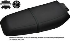 BLACK STITCH CUSTOM FITS KAWASAKI ZXi 1100 900 96-02 VINYL SEAT COVER + STRAP
