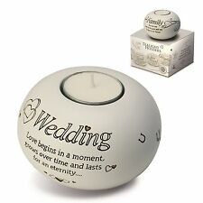 Said With Sentiment 7307 Wedding Tealight Holder