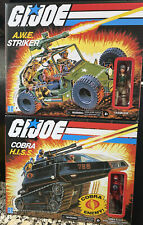 G.I. Joe Classified Retro Cobra HISS Tank & AWE Striker +Tank Driver & Crankcase