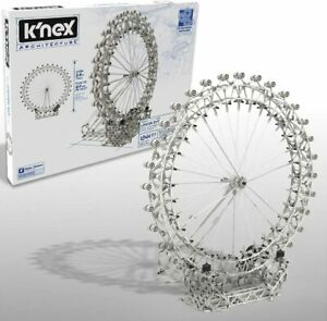 K'NEX London Eye Ferris Wheel Motorized Building Set 1861 Pieces NEW KNEX