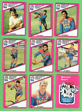 1988  NEWCASTLE KNIGHTS  SCANLENS RUGBY LEAGUE CARDS
