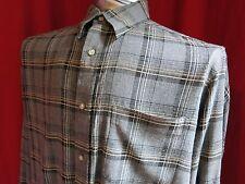 Claiborne Long Sleeve Button-front Shirt Large
