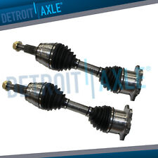 Front Driver And Passenger Side CV Drive Axle Half Shaft - 4x4 6 LUG GM Truck
