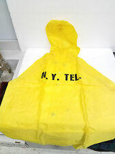 VTG New York telephone company raincoat /rain suit & pants  med. new in package