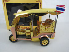 "Thai Taxi Tuk Tuk Pullback Toy Car Model Souvenir Collection Gift 6"""