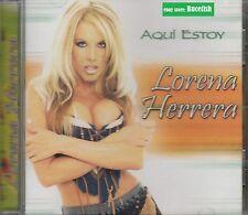 Lorena Herrera Aqui estoy CD New Nuevo Sealed