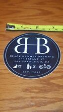 BLACK HAMMER Brewing Co. Sticker NEW! Craft Beer Brew Brewery Logo Decal Sticker