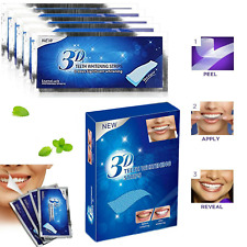 3D TEETH WHITENING STRIPS PROFESSIONAL WHITE TOOTH BLEACHING 14 STRIPS