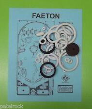 1985 Juegos Populares Faeton pinball rubber ring kit