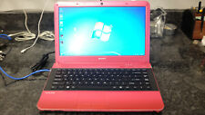 Sony Vaio VPCEA33FX/P PCG-61317L Pink Laptop/Notebook Computer with Adapter
