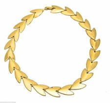 Coro Gold Arrowhead Choker Necklace Vintage 1940s 17""