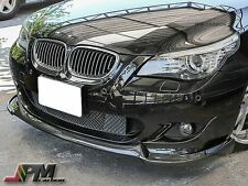 FOR 04-10 E60 528i 535i 550i  M-Tech Only HG Style Front Carbon Fiber Bumper Lip