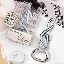 150 Musical Note Bottle Opener Music Bridal Wedding Favor Party Event Bulk Lot
