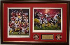 Alabama football Back 2 Back Champions 2011-2012 Daniel Moore framed prints/coin