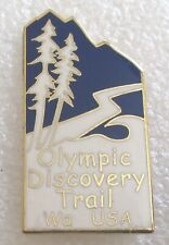 Olympic Discovery Trail Tourist Travel Souvenir Collector Pin - Washington