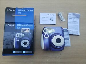 Polaroid 300 Instant Camera PIC 300 PURPLE - USED ONCE ! PERFECT GIFT ! CIB LOOK