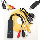 USB 2.0 Audio Video VHS to DVD PC Converter Capture Card Adapter win 7 8 64 32 B