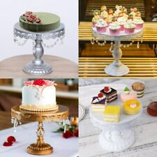 Dessert Cake Metal Stand Wedding Party Birthday Party Crystal Frame 3 colors