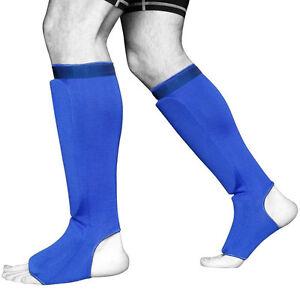 ELASTIC CLOTH SHIN IN-STEP GUARDS Muay Thai, MMA, Karate, Taekwondo, Martial art