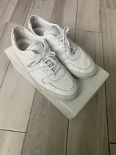 Common Projects Bball Low White 41 US 8 Premium Leather Sneakers
