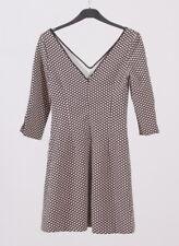 Zara lookbook Trafaluc Autumn/winter fashion collection Velvet dress in dots S