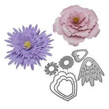 Flower Metal Cutting Dies Stencil For Scrapbook Paper Card DIY Craft Handmade