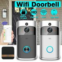 Smart Wireless WI-FI Doorbell IR Video Camera Intercom Record Bell Home Security