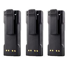 3X 2100mAh NTN7143 NTN7144 Battery for MOTOROLA HT1000 MT2000 MTS2000