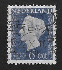 Netherlands 1947-1948 Queen Wilhelmina 6c (X3)