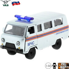Diecast Vehicles Scale 1:50 Off-road Van UAZ 452 Russian Special Toy Car