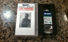 Die Hard With A Vengeance Vhs! Speed Lethal Weapon First Blood Commando