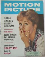 Motion Picture Magazine November 1961 Debbie Reynolds Cover ROD TAYLOR TOP COPY!